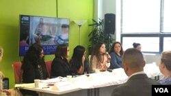 Trung tâm về Quyền của Di dân tổ chức hội thảo tại Washinton ngày 12/9/2017 về việc nữ công nhân di dân bị bóc lột.
