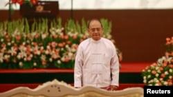 លោក Thein Sein ប្រធានាធិបតីប្រទេសភូមាថ្លែងសុន្ទរកថាប្រកាសកិច្ចប្រជុំរដ្ឋមន្ត្រីអាស៊ានឆ្នាំ២០១៤