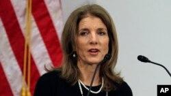 캐롤라인 케네디 주일 미국 대사. (자료사진)