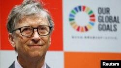 Bill Gates à Addis Abeba lors du sommet de l'Union Africaine