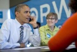 Pemilihan Presiden AS di Chicago, Illinois - Amerika Memilih 2012