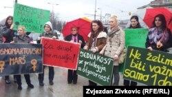 Sa Osmomartovskog marša u Sarajevu, fotoarhiv