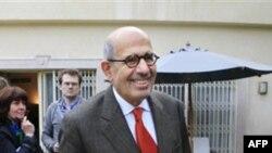 Мохамед Элбарадеи, бывший руководитель ООН ядерного охранительного агентства и реформистский лидер Египта