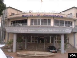 Cameroon ministry of communication located in Yaounde, Cameroon. May 2, 2019 (M.Kindzeka/VOA)