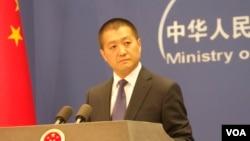 中国外交部新闻司司长兼发言人陆慷(资料照片)