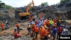 1일 콜롬비아 남부 코우카 주에서 금광이 무너지는 사고가 발생했다.