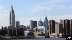 美国旅游景点之一:纽约帝国大厦