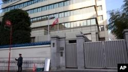 일본 도쿄의 재일본 조선인총연합회 본부 건물 (자료사진)