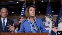 FILE - House Minority Leader Nancy Pelosi, D-Calif.