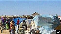 Des familles victimes de la sècheresse à Garowe, dans la région semi-autonome somalienne du Puntland