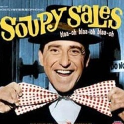 Soupy Sales was known for wearing his black top hat and big, funny-looking bow ties.
