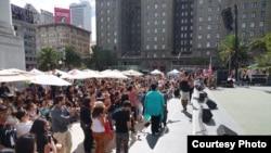 Suasana Indo Day di San Francisco, 29 Agustus 2015 (Foto: Paul Amron)