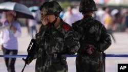 Hàng trăm người thiệt mạng ở Trung Quốc trong những năm qua trong các vụ bạo động giữa người Hán chiếm đa số và người thiểu số Uighur ở Tân Cương.