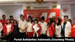 Partai Solidaritas Indonesia tidak lolos ke Senayan, namun berjanji terus berkiprah. (courtesy: Partai Solidaritas Indonesia)