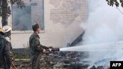 Украина: пожар в доме престарелых
