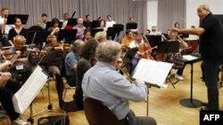 Dàn nhạc Thính phòng Israel trình diễn tại Bayreuth, một thị trấn trong vùng đông nam nước Đức,