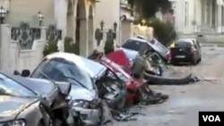 Siri: Militan Dwa-Moun fè Konnen Atak yo Kontinye Sou Vil Homs