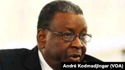 L'ancien président tchadien Lol Mahamat Choua, au Tchad, le 16 septembre 2019. (VOA/André Kodmadjingar)