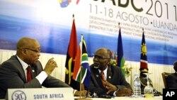 Cimeira presidencial da SADC em Luanda - Agosto 2011 (Arquivo)