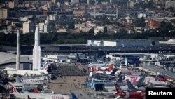 نمایشگاه هوایی پاریس، میزبان بیش از ۴۰۰ شرکت آمریکایی بود