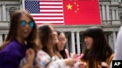 在美国的中国留学生
