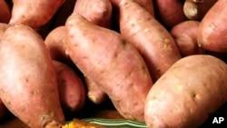A batata doce é rica em vitamina A