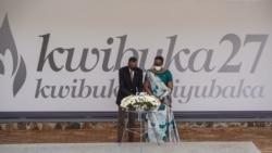 Perezida Paul Kagame na madamu we Jeannette Kagame
