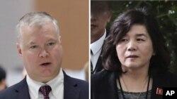 지난 2019년 1월 스티브 비건 미국 국무부 대북정책특별대표와 최선희 북한 외무성 부상이 스웨덴에서 2차 미북정상회담을 위한 실무협상을 벌였다.