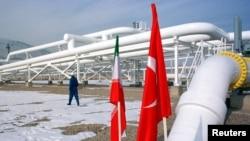 خط لوله گاز ایران به ترکیه