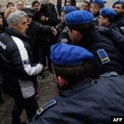Protesti u Sarajevu zbog hapšenja Jovana Divjaka