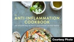 "Amanda Haas wrote ""The Anti-Inflammation Cookbook"" at the suggestion of her doctor, who noted that her ailments were all forms of inflammation in her body. (Credit: Erin Kunkel)"