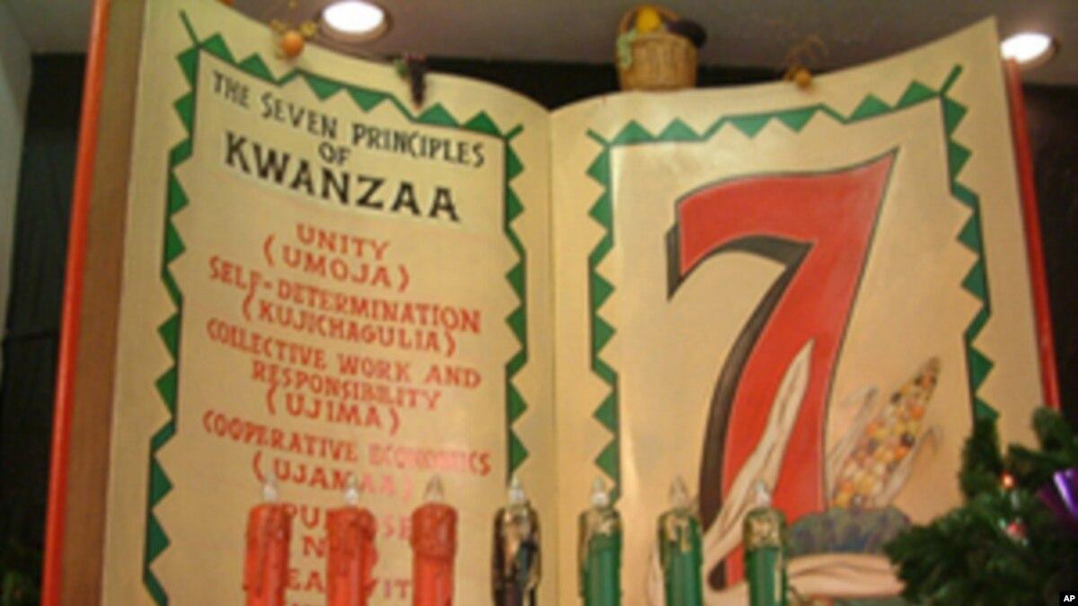 Holiday Season Includes Secular Kwanzaa