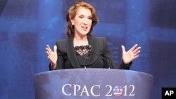 미국 여성총선 후보 칼리 피오리나(자료사진)