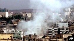 敘利亞政府軍的繼續轟炸和炮擊