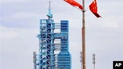甘肃酒泉卫星发射中心。