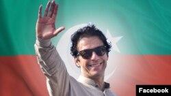 عمران خان رهبر حزب تحریک انصاف پاکستان