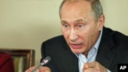 روس کے وزیراعظم ولادیمر پوٹن