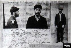 İosif Cuqaşvilinin Bakıda kriminal fəaliyyət zəminində həbsi zamanı çəkilmiş fotosu