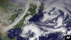 Hurricane Sandy ဓာတ္ပံုမွတ္တမ္း