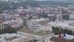 乌克兰西部城市感受到远方冲突震撼
