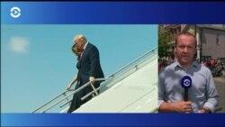 Президент Трамп посетил Дейтон, где произошла массовая стрельба