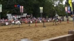 Olah Raga Tombak Berkuda Masih Berjaya di Amerika
