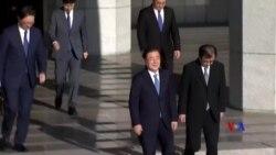 2018-09-05 美國之音視頻新聞: 南韓總統特使訪問平壤