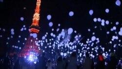 世界各地庆祝2016年到来