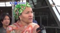 Amina Mohammed wungirije umunyamabanga mukuru wa ONU yabonanye na perezida Joseph Kabila wa Congo i Kinshasa