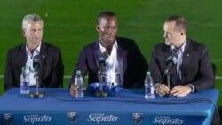 Les premiers mots de Didier Drogba dans son nouveau club de Montréal