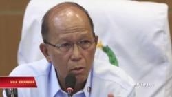 Philippines quan ngại việc Trung Quốc tăng cường vũ khí trên đảo