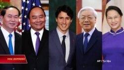 Thủ tướng Canada sẽ đề cập nhân quyền với lãnh đạo Việt Nam