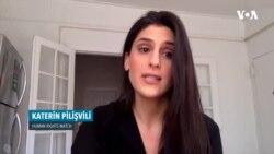 """Katerin Pilişvili: """"Əliyev pandemiyadan tənqidçilərini təqib etmək üçün istifadə etdi"""""""