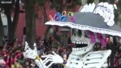 مکسیکو کې د مړو رسم گذشت